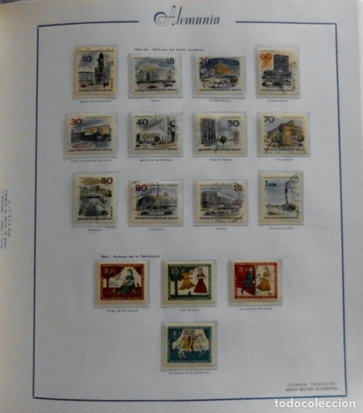 Sellos: COLECCIÓN ALEMANIA ORIENTAL 1948 A 1972, 1973 A 1981 BERLIN, OCCIDENTAL, ALBUM DE SELLOS - Foto 285 - 67324821
