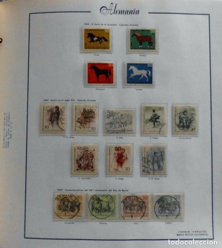 Sellos: COLECCIÓN ALEMANIA ORIENTAL 1948 A 1972, 1973 A 1981 BERLIN, OCCIDENTAL, ALBUM DE SELLOS - Foto 289 - 67324821