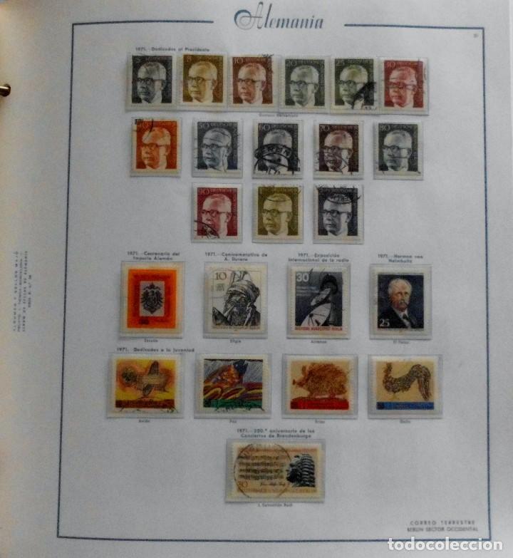 Sellos: COLECCIÓN ALEMANIA ORIENTAL 1948 A 1972, 1973 A 1981 BERLIN, OCCIDENTAL, ALBUM DE SELLOS - Foto 292 - 67324821