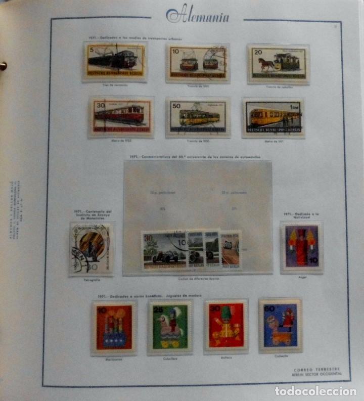 Sellos: COLECCIÓN ALEMANIA ORIENTAL 1948 A 1972, 1973 A 1981 BERLIN, OCCIDENTAL, ALBUM DE SELLOS - Foto 293 - 67324821