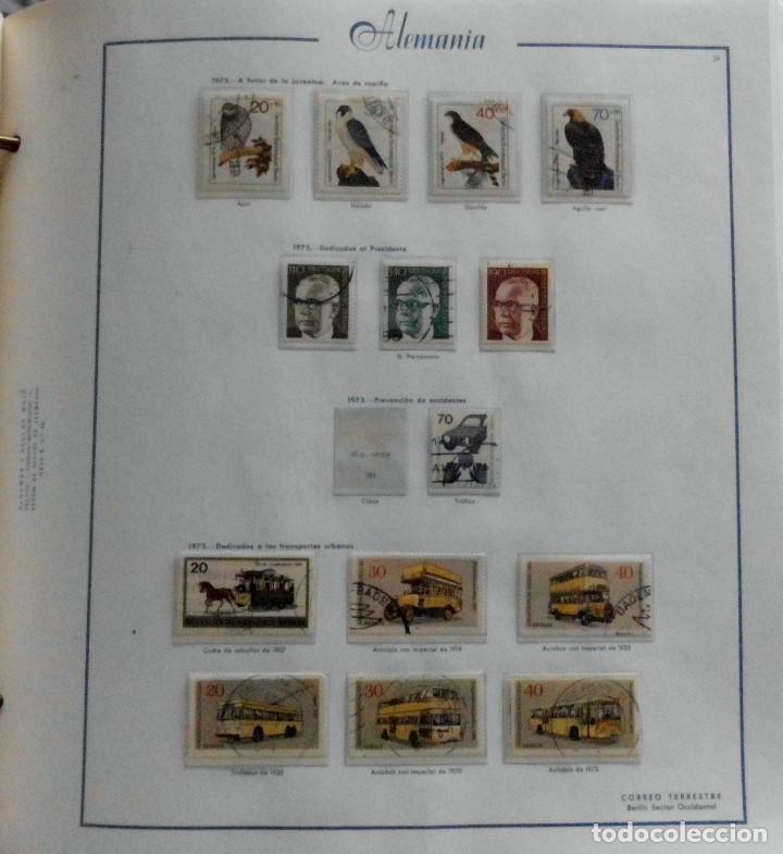 Sellos: COLECCIÓN ALEMANIA ORIENTAL 1948 A 1972, 1973 A 1981 BERLIN, OCCIDENTAL, ALBUM DE SELLOS - Foto 296 - 67324821