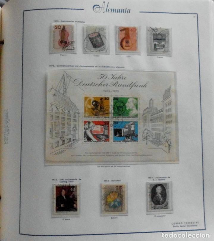 Sellos: COLECCIÓN ALEMANIA ORIENTAL 1948 A 1972, 1973 A 1981 BERLIN, OCCIDENTAL, ALBUM DE SELLOS - Foto 297 - 67324821