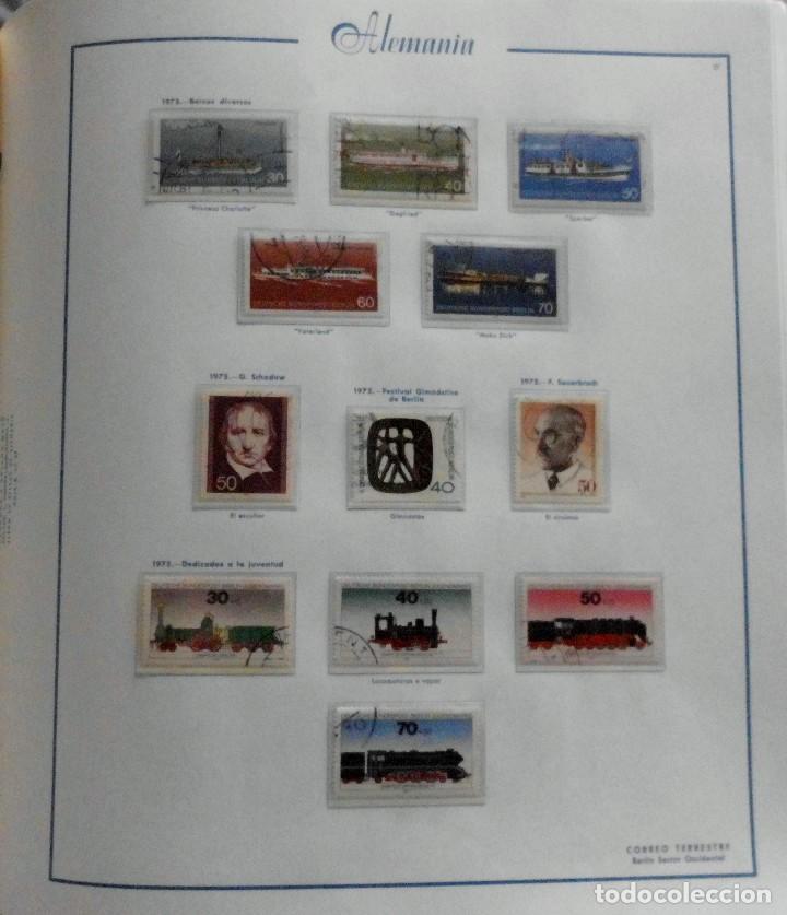Sellos: COLECCIÓN ALEMANIA ORIENTAL 1948 A 1972, 1973 A 1981 BERLIN, OCCIDENTAL, ALBUM DE SELLOS - Foto 299 - 67324821