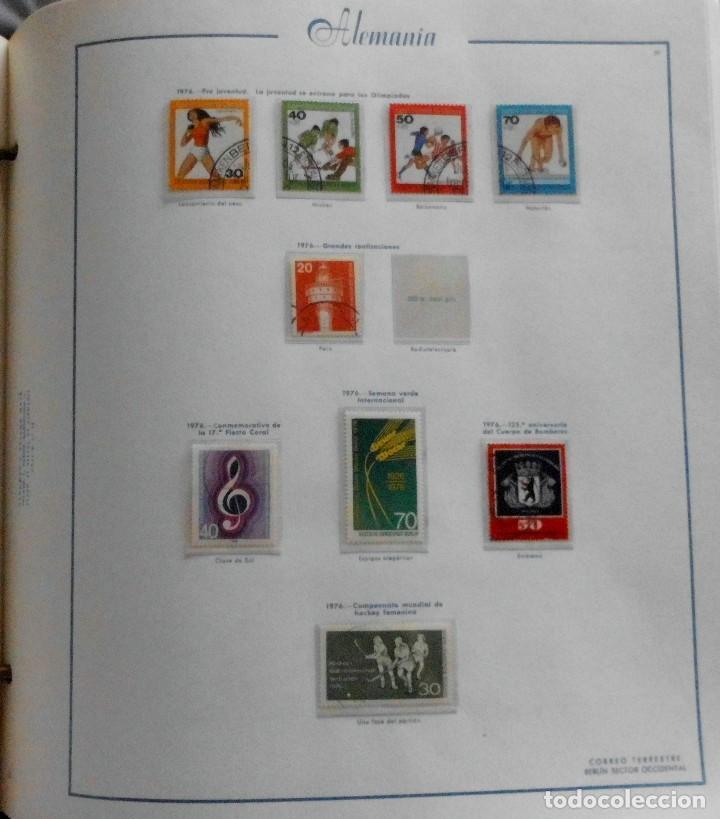Sellos: COLECCIÓN ALEMANIA ORIENTAL 1948 A 1972, 1973 A 1981 BERLIN, OCCIDENTAL, ALBUM DE SELLOS - Foto 301 - 67324821