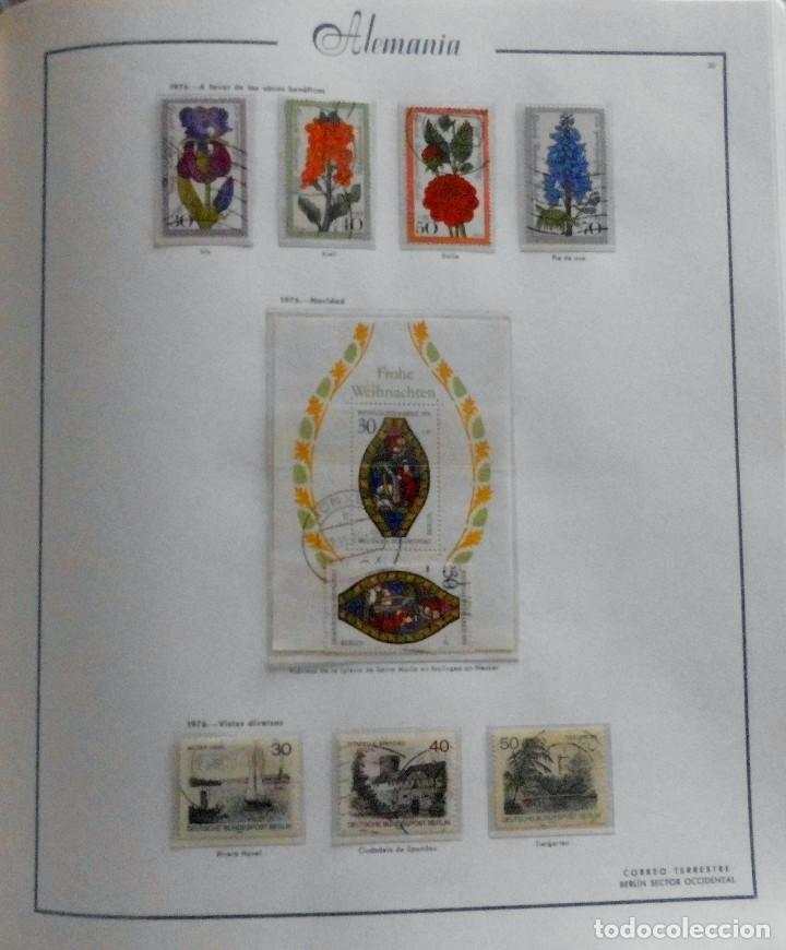 Sellos: COLECCIÓN ALEMANIA ORIENTAL 1948 A 1972, 1973 A 1981 BERLIN, OCCIDENTAL, ALBUM DE SELLOS - Foto 302 - 67324821
