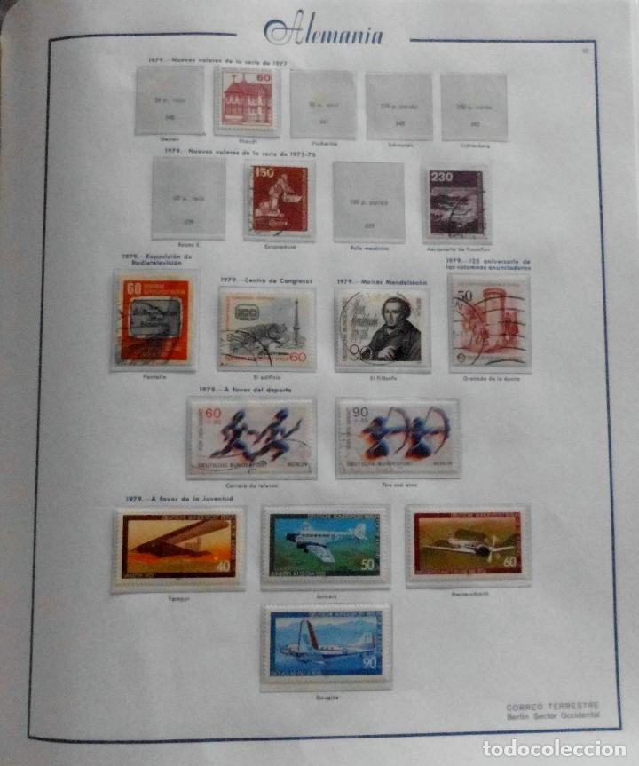 Sellos: COLECCIÓN ALEMANIA ORIENTAL 1948 A 1972, 1973 A 1981 BERLIN, OCCIDENTAL, ALBUM DE SELLOS - Foto 307 - 67324821