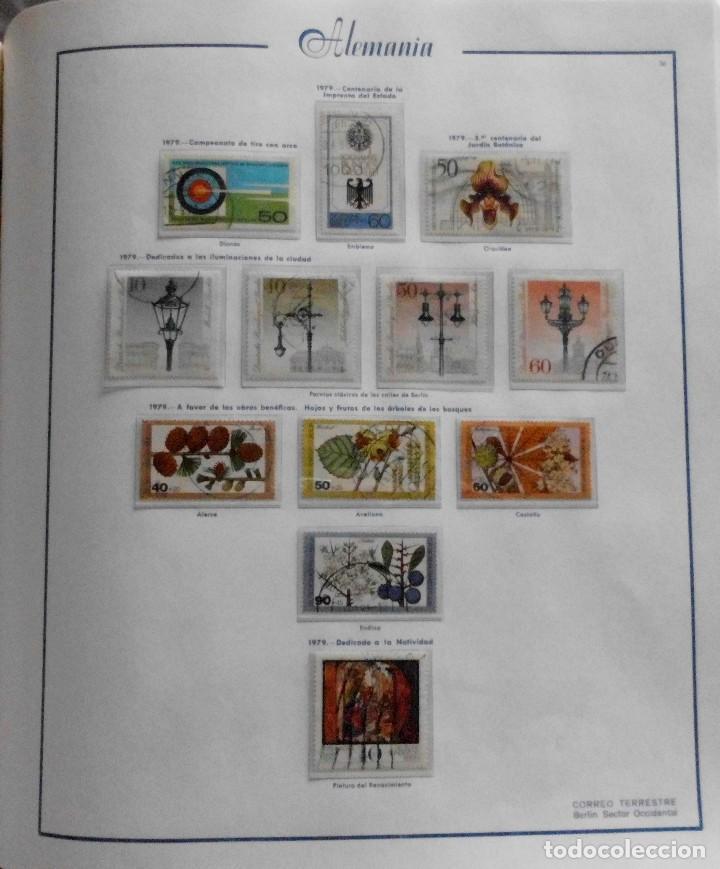 Sellos: COLECCIÓN ALEMANIA ORIENTAL 1948 A 1972, 1973 A 1981 BERLIN, OCCIDENTAL, ALBUM DE SELLOS - Foto 308 - 67324821