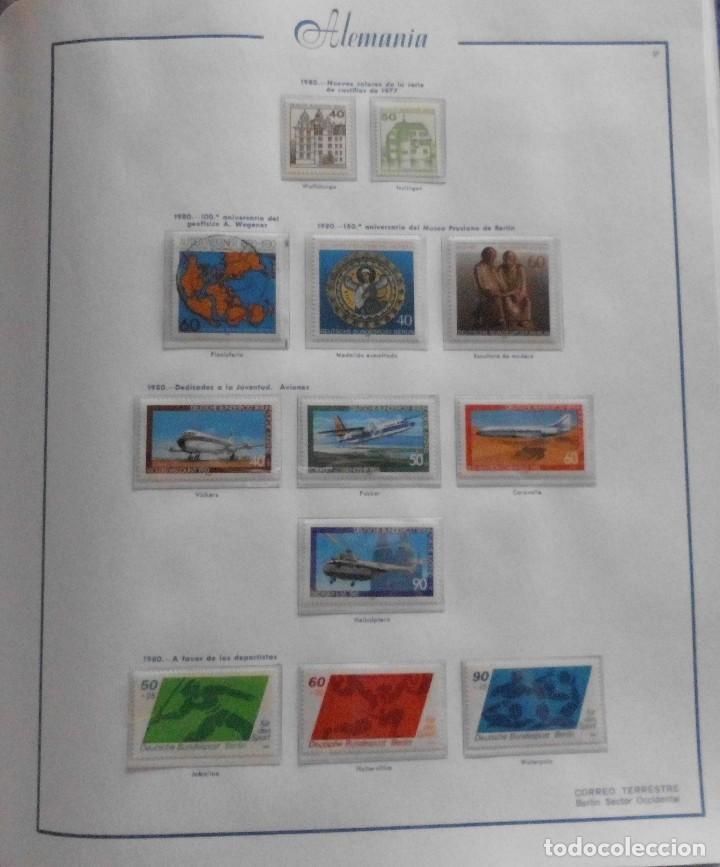 Sellos: COLECCIÓN ALEMANIA ORIENTAL 1948 A 1972, 1973 A 1981 BERLIN, OCCIDENTAL, ALBUM DE SELLOS - Foto 309 - 67324821