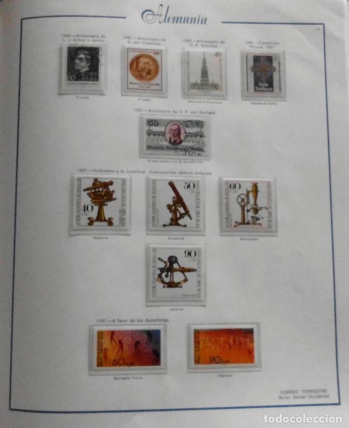 Sellos: COLECCIÓN ALEMANIA ORIENTAL 1948 A 1972, 1973 A 1981 BERLIN, OCCIDENTAL, ALBUM DE SELLOS - Foto 312 - 67324821
