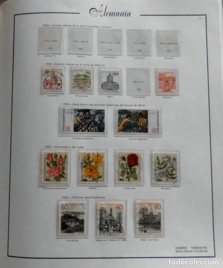Sellos: COLECCIÓN ALEMANIA ORIENTAL 1948 A 1972, 1973 A 1981 BERLIN, OCCIDENTAL, ALBUM DE SELLOS - Foto 314 - 67324821