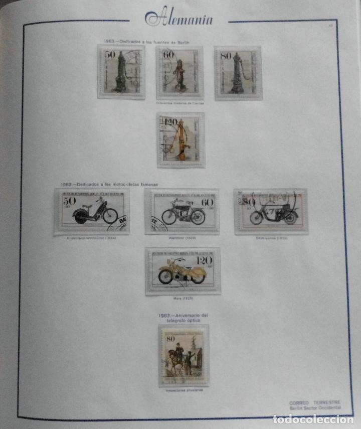 Sellos: COLECCIÓN ALEMANIA ORIENTAL 1948 A 1972, 1973 A 1981 BERLIN, OCCIDENTAL, ALBUM DE SELLOS - Foto 315 - 67324821