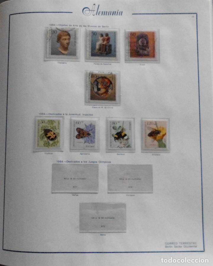 Sellos: COLECCIÓN ALEMANIA ORIENTAL 1948 A 1972, 1973 A 1981 BERLIN, OCCIDENTAL, ALBUM DE SELLOS - Foto 317 - 67324821