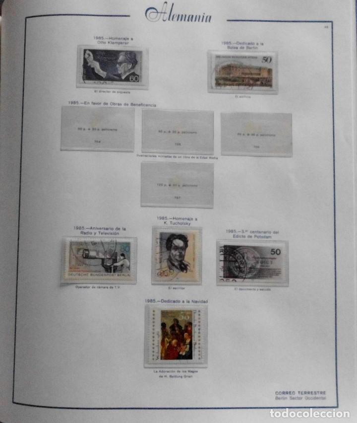 Sellos: COLECCIÓN ALEMANIA ORIENTAL 1948 A 1972, 1973 A 1981 BERLIN, OCCIDENTAL, ALBUM DE SELLOS - Foto 320 - 67324821