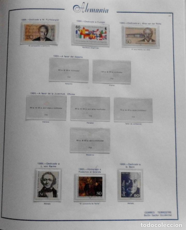 Sellos: COLECCIÓN ALEMANIA ORIENTAL 1948 A 1972, 1973 A 1981 BERLIN, OCCIDENTAL, ALBUM DE SELLOS - Foto 321 - 67324821
