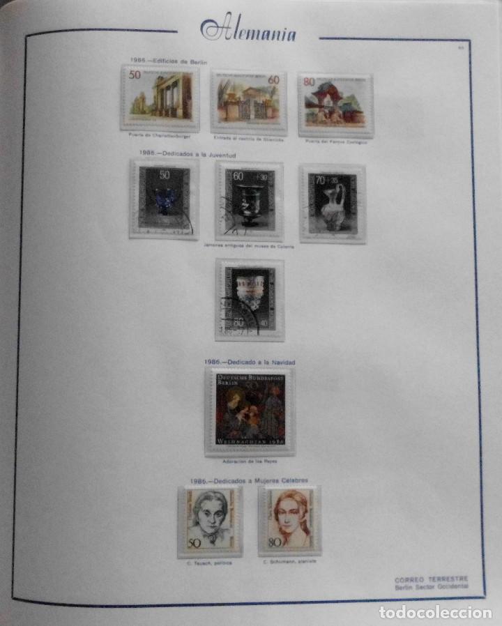 Sellos: COLECCIÓN ALEMANIA ORIENTAL 1948 A 1972, 1973 A 1981 BERLIN, OCCIDENTAL, ALBUM DE SELLOS - Foto 322 - 67324821