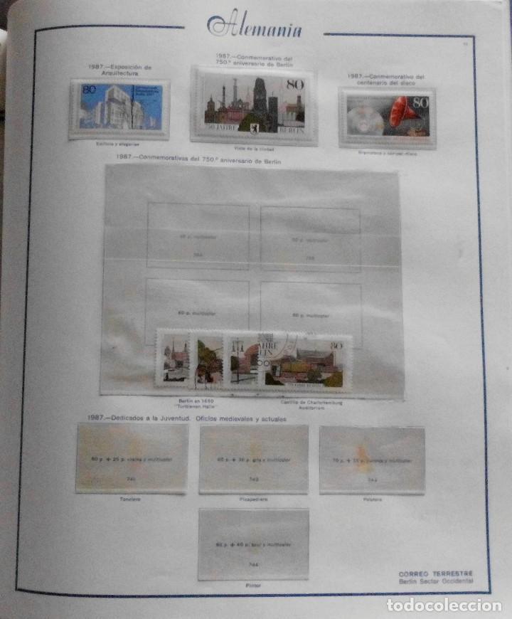 Sellos: COLECCIÓN ALEMANIA ORIENTAL 1948 A 1972, 1973 A 1981 BERLIN, OCCIDENTAL, ALBUM DE SELLOS - Foto 323 - 67324821