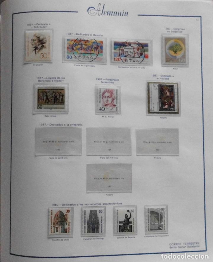 Sellos: COLECCIÓN ALEMANIA ORIENTAL 1948 A 1972, 1973 A 1981 BERLIN, OCCIDENTAL, ALBUM DE SELLOS - Foto 324 - 67324821