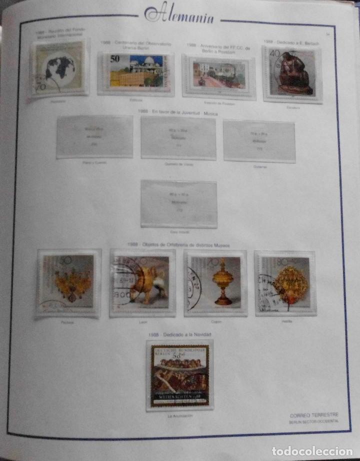 Sellos: COLECCIÓN ALEMANIA ORIENTAL 1948 A 1972, 1973 A 1981 BERLIN, OCCIDENTAL, ALBUM DE SELLOS - Foto 326 - 67324821