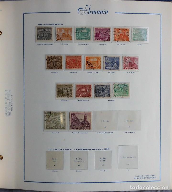 Sellos: COLECCIÓN ALEMANIA ORIENTAL 1948 A 1972, 1973 A 1981 BERLIN, OCCIDENTAL, ALBUM DE SELLOS - Foto 328 - 67324821