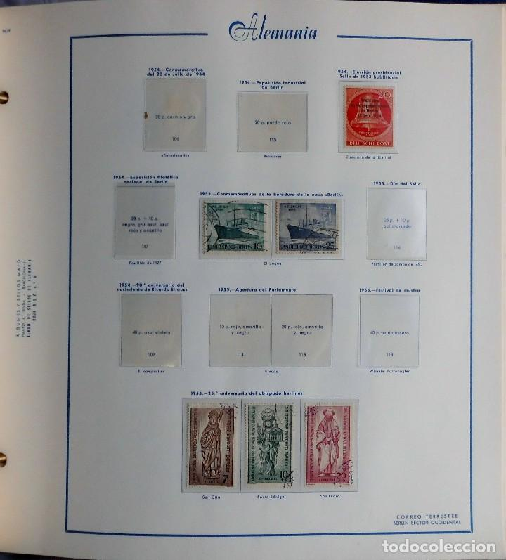 Sellos: COLECCIÓN ALEMANIA ORIENTAL 1948 A 1972, 1973 A 1981 BERLIN, OCCIDENTAL, ALBUM DE SELLOS - Foto 332 - 67324821