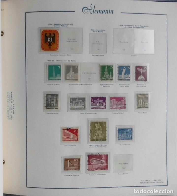 Sellos: COLECCIÓN ALEMANIA ORIENTAL 1948 A 1972, 1973 A 1981 BERLIN, OCCIDENTAL, ALBUM DE SELLOS - Foto 333 - 67324821