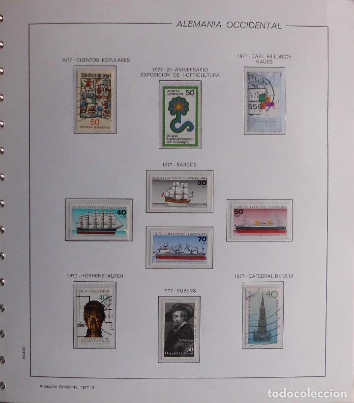 Sellos: COLECCIÓN ALEMANIA ORIENTAL 1948 A 1972, 1973 A 1981 BERLIN, OCCIDENTAL, ALBUM DE SELLOS - Foto 340 - 67324821