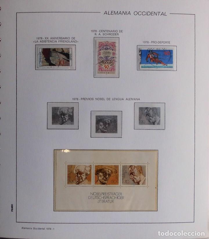 Sellos: COLECCIÓN ALEMANIA ORIENTAL 1948 A 1972, 1973 A 1981 BERLIN, OCCIDENTAL, ALBUM DE SELLOS - Foto 344 - 67324821