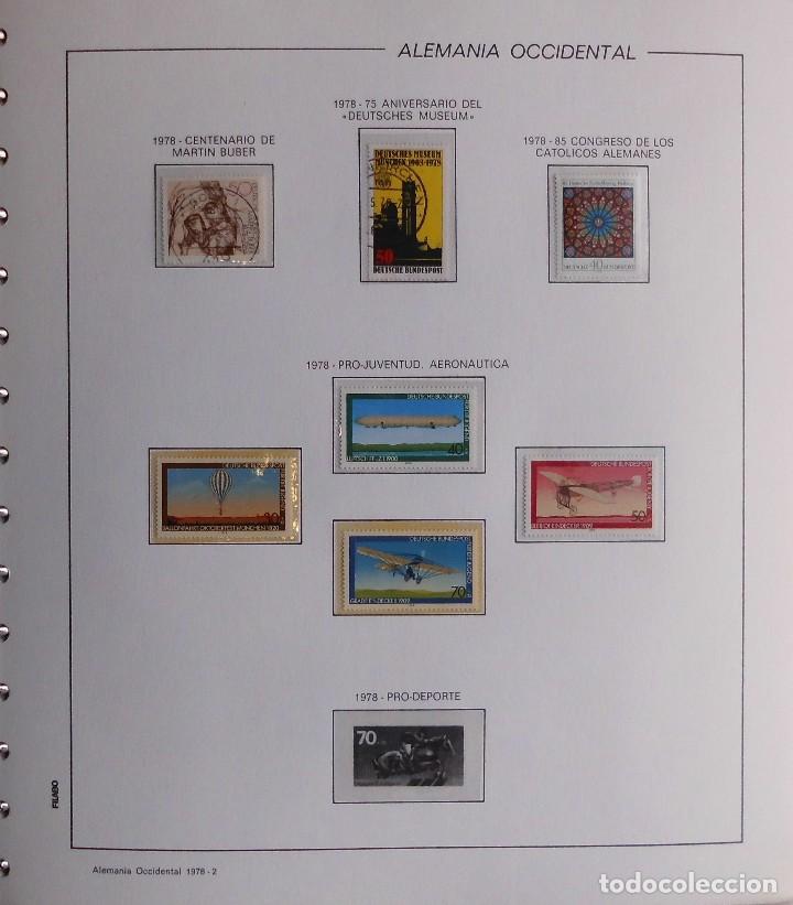 Sellos: COLECCIÓN ALEMANIA ORIENTAL 1948 A 1972, 1973 A 1981 BERLIN, OCCIDENTAL, ALBUM DE SELLOS - Foto 345 - 67324821