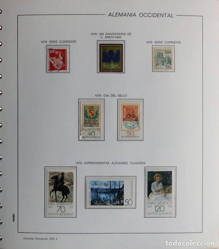 Sellos: COLECCIÓN ALEMANIA ORIENTAL 1948 A 1972, 1973 A 1981 BERLIN, OCCIDENTAL, ALBUM DE SELLOS - Foto 347 - 67324821