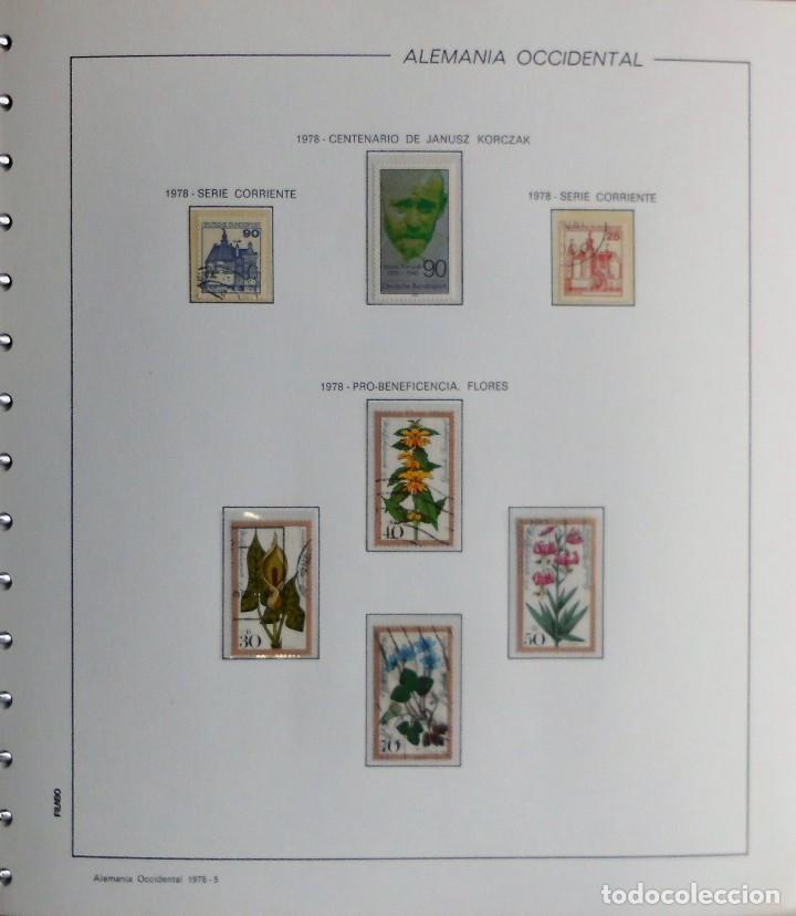 Sellos: COLECCIÓN ALEMANIA ORIENTAL 1948 A 1972, 1973 A 1981 BERLIN, OCCIDENTAL, ALBUM DE SELLOS - Foto 348 - 67324821