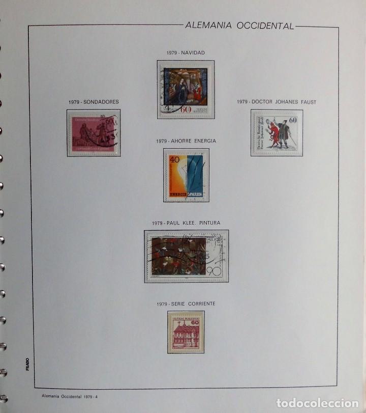 Sellos: COLECCIÓN ALEMANIA ORIENTAL 1948 A 1972, 1973 A 1981 BERLIN, OCCIDENTAL, ALBUM DE SELLOS - Foto 353 - 67324821
