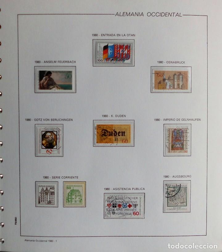 Sellos: COLECCIÓN ALEMANIA ORIENTAL 1948 A 1972, 1973 A 1981 BERLIN, OCCIDENTAL, ALBUM DE SELLOS - Foto 354 - 67324821