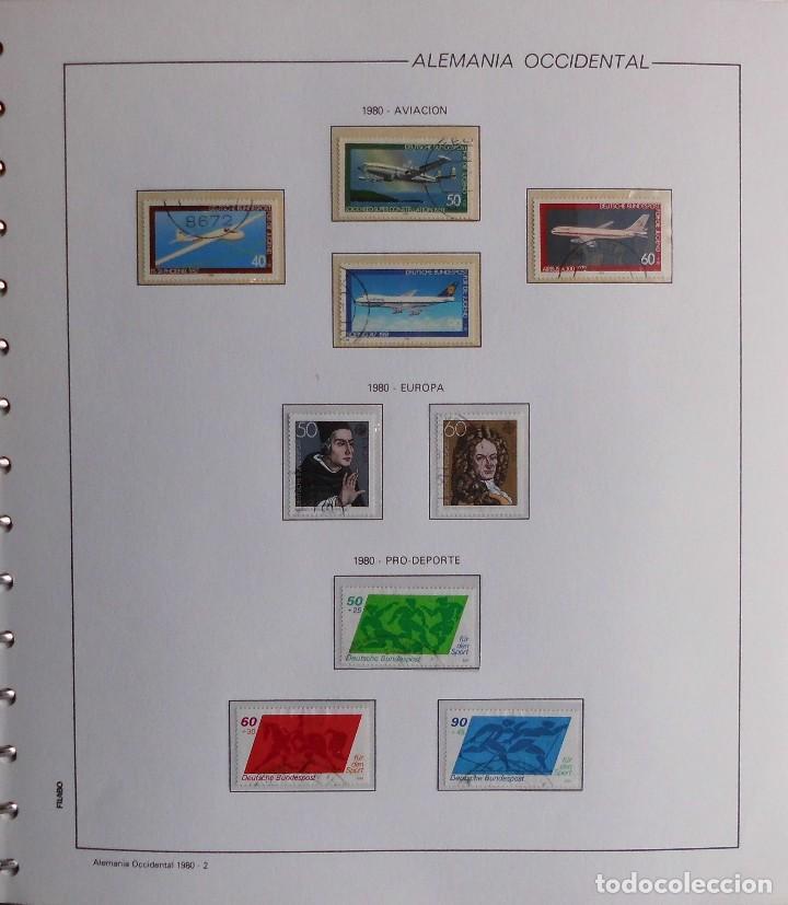 Sellos: COLECCIÓN ALEMANIA ORIENTAL 1948 A 1972, 1973 A 1981 BERLIN, OCCIDENTAL, ALBUM DE SELLOS - Foto 355 - 67324821