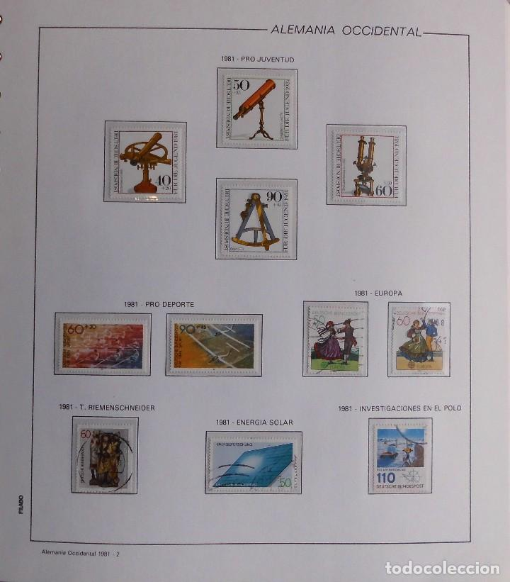 Sellos: COLECCIÓN ALEMANIA ORIENTAL 1948 A 1972, 1973 A 1981 BERLIN, OCCIDENTAL, ALBUM DE SELLOS - Foto 360 - 67324821