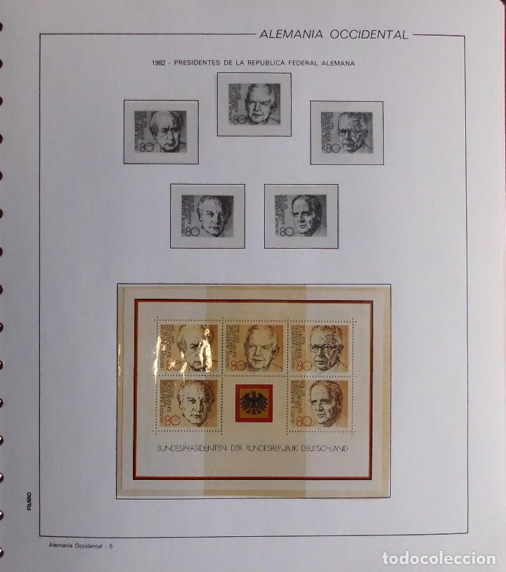 Sellos: COLECCIÓN ALEMANIA ORIENTAL 1948 A 1972, 1973 A 1981 BERLIN, OCCIDENTAL, ALBUM DE SELLOS - Foto 367 - 67324821