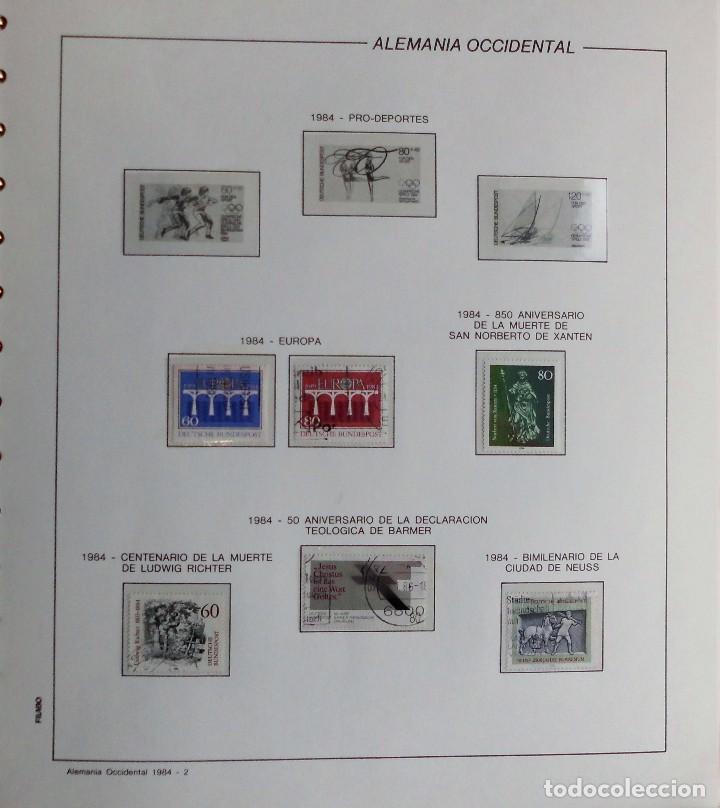 Sellos: COLECCIÓN ALEMANIA ORIENTAL 1948 A 1972, 1973 A 1981 BERLIN, OCCIDENTAL, ALBUM DE SELLOS - Foto 375 - 67324821
