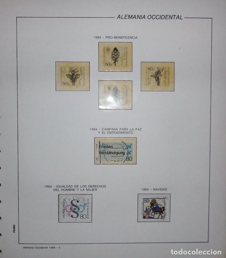 Sellos: COLECCIÓN ALEMANIA ORIENTAL 1948 A 1972, 1973 A 1981 BERLIN, OCCIDENTAL, ALBUM DE SELLOS - Foto 378 - 67324821