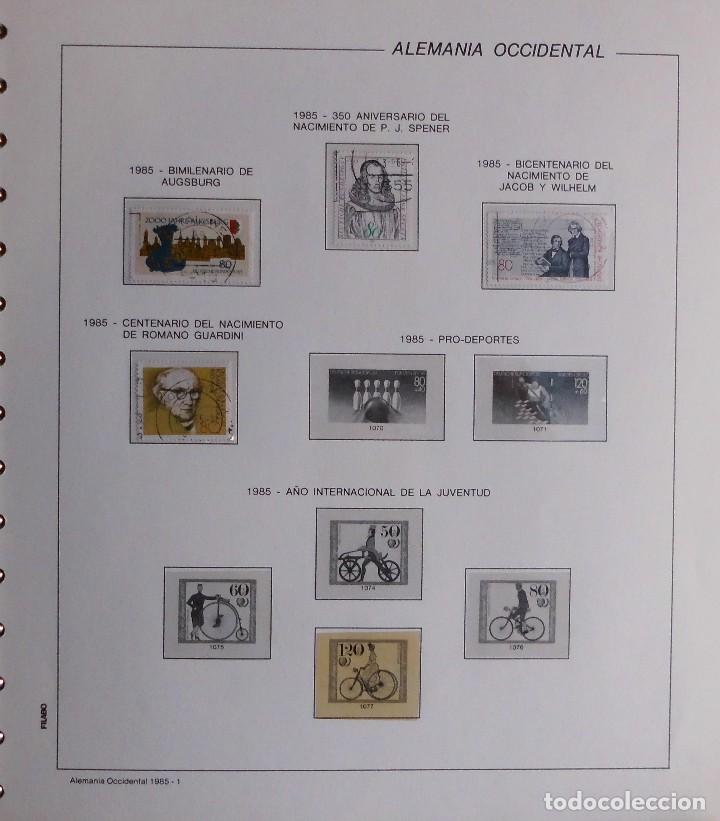 Sellos: COLECCIÓN ALEMANIA ORIENTAL 1948 A 1972, 1973 A 1981 BERLIN, OCCIDENTAL, ALBUM DE SELLOS - Foto 379 - 67324821