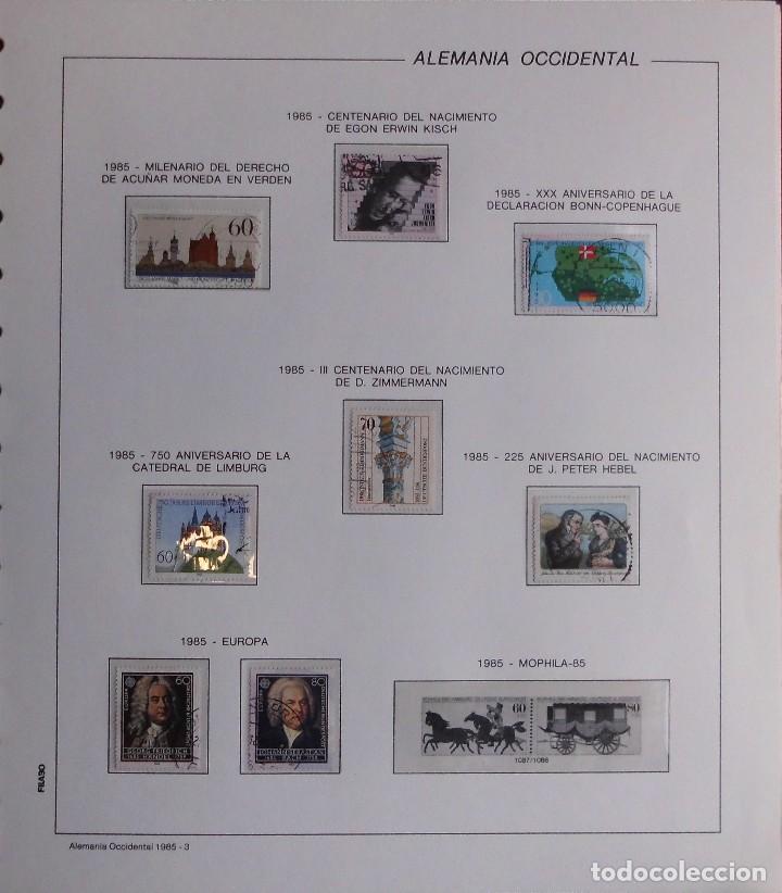 Sellos: COLECCIÓN ALEMANIA ORIENTAL 1948 A 1972, 1973 A 1981 BERLIN, OCCIDENTAL, ALBUM DE SELLOS - Foto 381 - 67324821