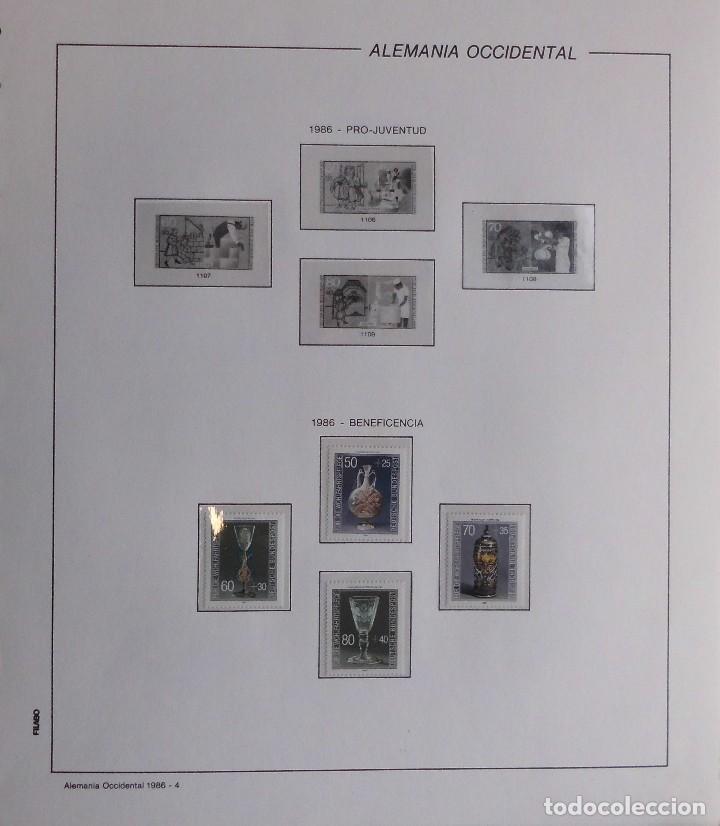 Sellos: COLECCIÓN ALEMANIA ORIENTAL 1948 A 1972, 1973 A 1981 BERLIN, OCCIDENTAL, ALBUM DE SELLOS - Foto 386 - 67324821