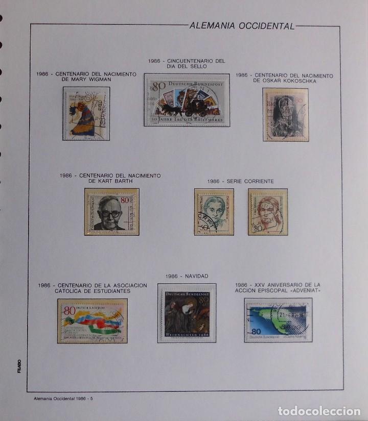 Sellos: COLECCIÓN ALEMANIA ORIENTAL 1948 A 1972, 1973 A 1981 BERLIN, OCCIDENTAL, ALBUM DE SELLOS - Foto 387 - 67324821