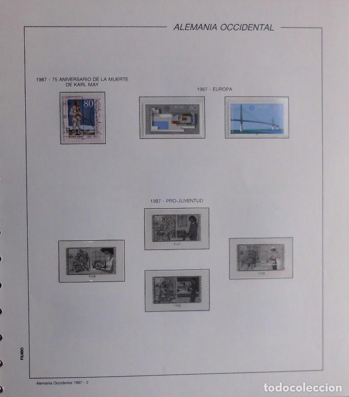 Sellos: COLECCIÓN ALEMANIA ORIENTAL 1948 A 1972, 1973 A 1981 BERLIN, OCCIDENTAL, ALBUM DE SELLOS - Foto 389 - 67324821