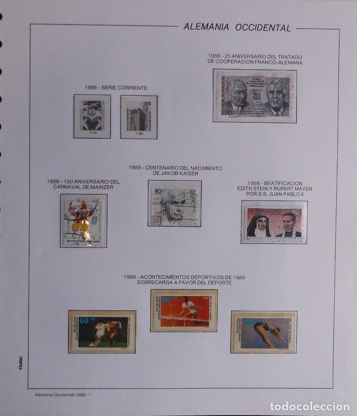 Sellos: COLECCIÓN ALEMANIA ORIENTAL 1948 A 1972, 1973 A 1981 BERLIN, OCCIDENTAL, ALBUM DE SELLOS - Foto 393 - 67324821