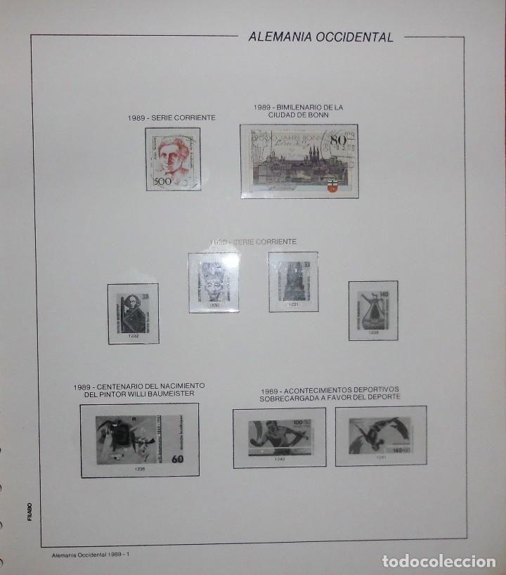 Sellos: COLECCIÓN ALEMANIA ORIENTAL 1948 A 1972, 1973 A 1981 BERLIN, OCCIDENTAL, ALBUM DE SELLOS - Foto 398 - 67324821
