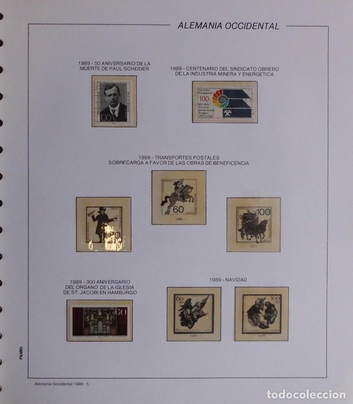 Sellos: COLECCIÓN ALEMANIA ORIENTAL 1948 A 1972, 1973 A 1981 BERLIN, OCCIDENTAL, ALBUM DE SELLOS - Foto 402 - 67324821
