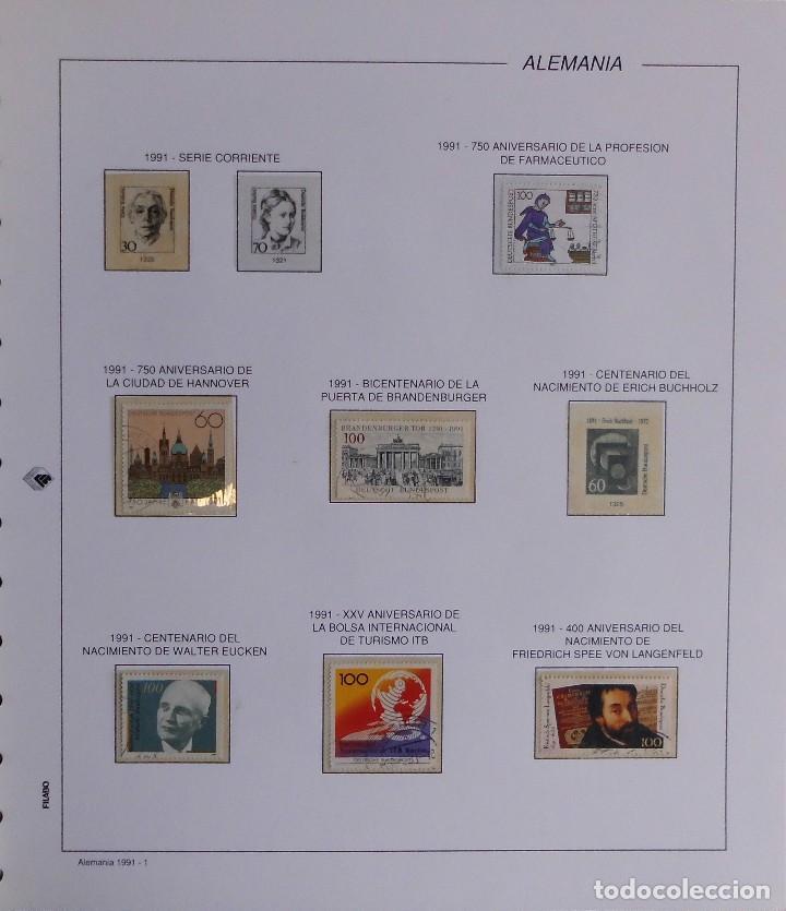 Sellos: COLECCIÓN ALEMANIA ORIENTAL 1948 A 1972, 1973 A 1981 BERLIN, OCCIDENTAL, ALBUM DE SELLOS - Foto 411 - 67324821