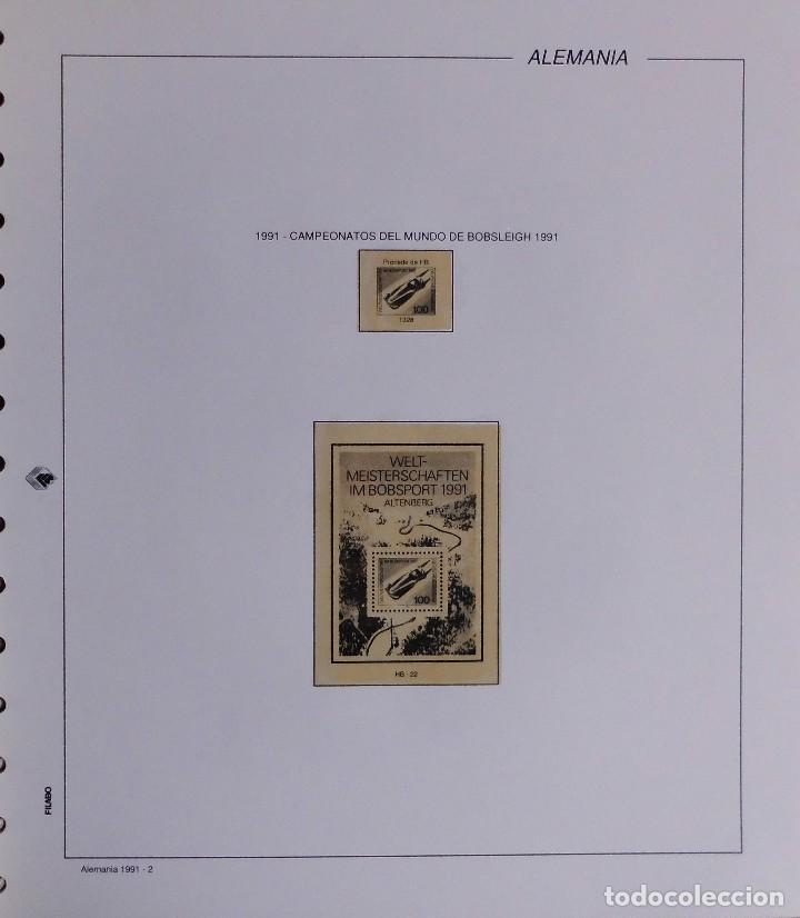 Sellos: COLECCIÓN ALEMANIA ORIENTAL 1948 A 1972, 1973 A 1981 BERLIN, OCCIDENTAL, ALBUM DE SELLOS - Foto 412 - 67324821
