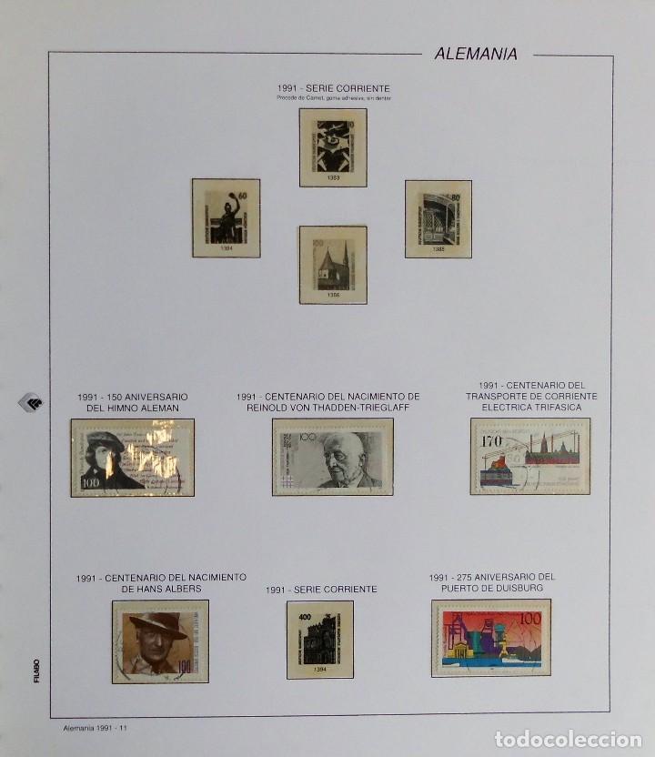 Sellos: COLECCIÓN ALEMANIA ORIENTAL 1948 A 1972, 1973 A 1981 BERLIN, OCCIDENTAL, ALBUM DE SELLOS - Foto 421 - 67324821