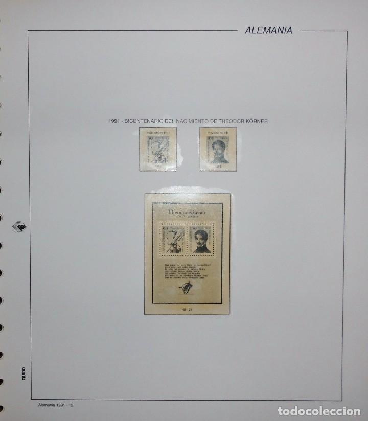 Sellos: COLECCIÓN ALEMANIA ORIENTAL 1948 A 1972, 1973 A 1981 BERLIN, OCCIDENTAL, ALBUM DE SELLOS - Foto 422 - 67324821