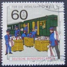 Sellos: BERLIN - IVERT 837 USADO - HISTORIA DE CORREOS (Ñ 378). Lote 68708277